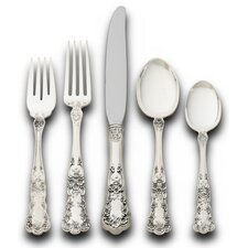 Sterling Silver Buttercup 5 Piece Flatware Set
