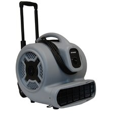 Air Mover with Telescopic Handle and Wheels