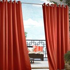Outdoor Decor Gazebo Grommet Top Single Curtain Panel