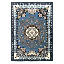 Kingdom Light Blue Traditional Rug