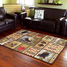 Wilderness Brown Area Rug