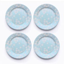 "Flora 8.25"" Salad Plate Set (Set of 4)"