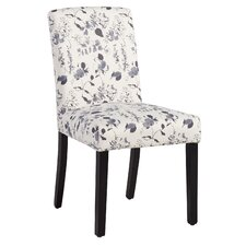 Milan Side Chair in Soft Blue Floral