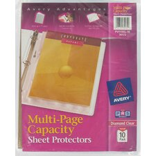 10 Count Multi-Page Capacity Sheet Protector