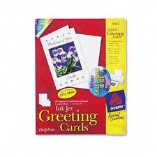 Personal Creations Printable Half-Fold Cards, 20/Box