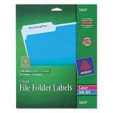Self-Adhesive Filing Labels, 450/Pack