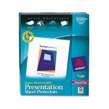 Top-Load Sheet Protector, 50/Box