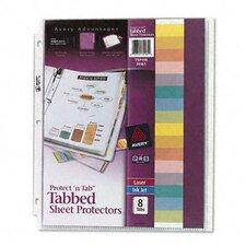 Protect 'N Tab Top-Load Sheet Protectors