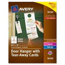 Door Hanger Flash Cards