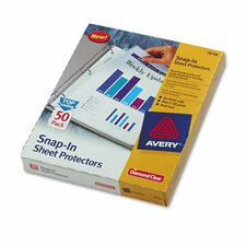 Snap-In Heavyweight Sheet Protector (50 Pack)
