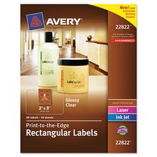 Rectangle Easy Peel Label (80 Pack)