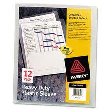 Heavy-Duty Plastic Sleeve
