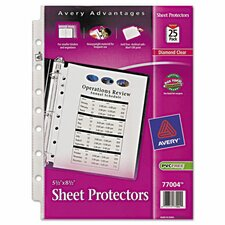 Top Load Sheet Protector (25 Pack) (Set of 2)