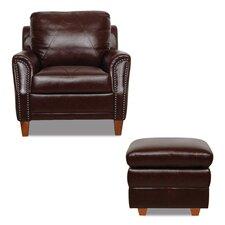 Austin Arm Chair and Ottoman