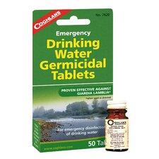 Emergency Drinking Water Tablets