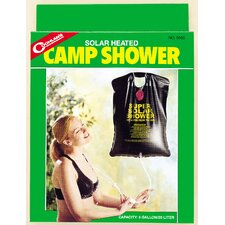 Solar Heated Camp Outdoor Shower