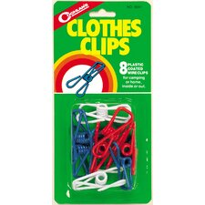 Clothes Clips 8 Count (Set of 8)