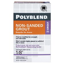 Polyblend Non-Sanded Tile Grout 10lb (Set of 4)
