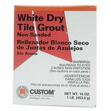 Dry Non-Sanded Tile Grout (Set of 6)