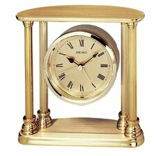 Executive Column Floating Clock