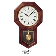 Schoolhouse Pendulum Wall Clock