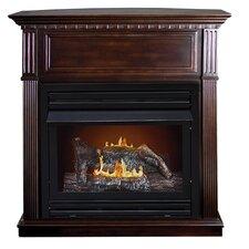 Lincolnshire Intermediate Dual Fuel Gas Fireplace