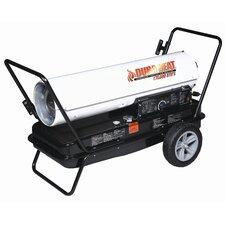 170,000 BTU Portable Kerosene Forced Air Utility Heater