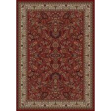 Persian Classics Oriental Sarouk Red Area Rug