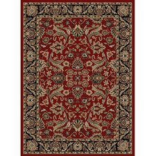 Adana Sultanabad Red Area Rug
