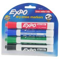Assorted Dry Erase Marker (4 Pack) (Set of 6)