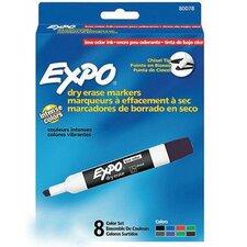 Dry Erase Board Color Marker (Pack of 8)