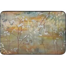 Designer Chef Flowers and Trees Mat