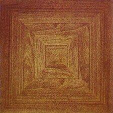 """12"""" x 12"""" Luxury Vinyl Tile in Wood"""