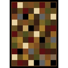 Royalty Checked Area Rug