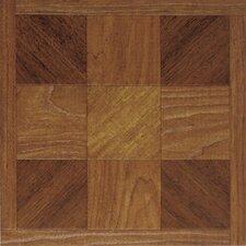 """Dynamix Vinyl Tile 12"""" x 12"""" Vinyl Tiles in Madison Woodtone"""