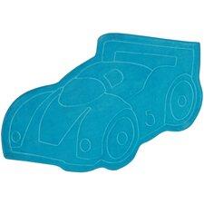 Carnaval Blue Car Area Rug