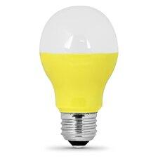 3W Yellow 120-Volt LED Light Bulb