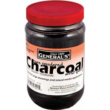 6 Oz Powdered Charcoal Jar