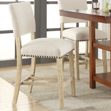"Carson 24"" Bar Stool with Cushion"