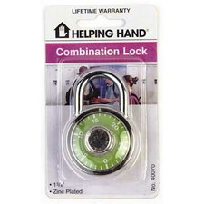 Combination Padlock (Set of 3)