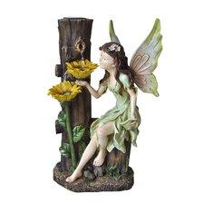 Solar Fairy Tabletop Fountain