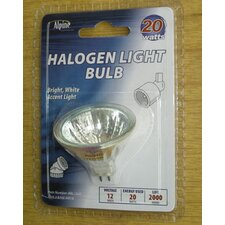 20W 20-Volt Halogen Light Bulb (Set of 3)