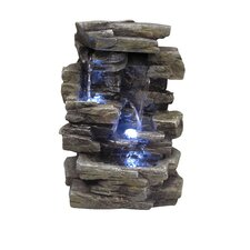 Fiberglass Slate Tabletop Fountain