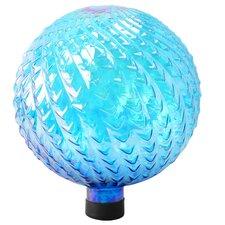 Glass Gazing Globe with Arrow Texture