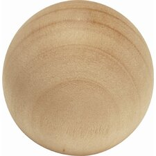 Natural Woodcraft Round Knob