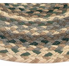 Beacon Hill Runner Green/Beige Plaid Area Rug