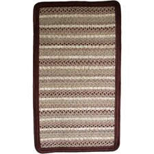 Beantown Tea Party Blend Brown/Tan Area Rug