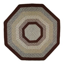 Green Mountain Femers Market Maroon Area Rug