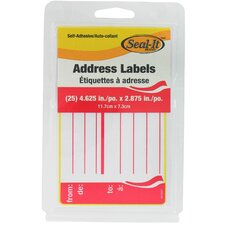 25 Count Address Label (Set of 12)