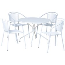 Martini 5 Piece Dining Set